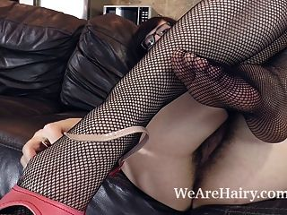 Anni Bay Puts On Sexy Strip Show And Masturbation