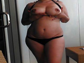 Wife Bbw Full Strip