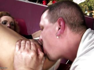Real Kinky Mom Fucked In All Holes And Creampied