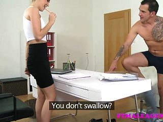 Femaleagent British Studs Fat Long Cock Fucks Sexy Agent