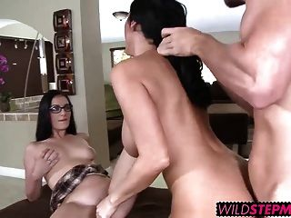 Milf Veronica Teaches Bashful Amanda How To Suck And Fuck