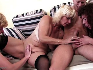 Mature Moms Fucked Hard By Lucky Young Boy