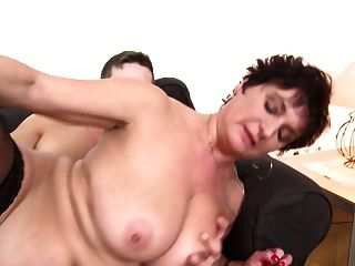 Mature Busty Goddess Mom Fucks Not Her Son