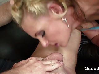 Sexy German Mom Milf Get Fucked By Big Dick And Cum In Pussy