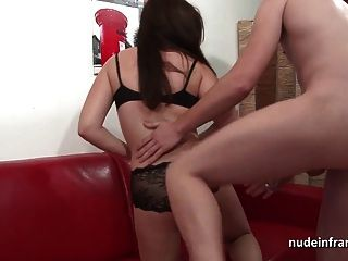 Young French Amat Hard Anal With A Huge Cock For Her Casting
