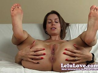 Lelu Love-spreading Pussy Asshole Soles Joe