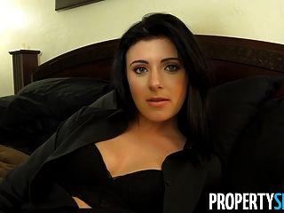 Propertysex - Pretty Southern Realtor Sucks And Fucks Client