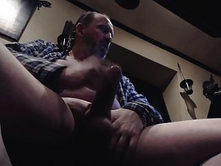 Str8 Daddy Play His Uncut Meat