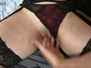 Mature Mom Takes Hard Cock Of Not Her Son