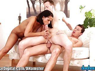 Doghouse Bi-sex Anal Cuckold
