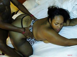 Chubby Latina Get 2 Cocks