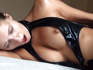 He Fuck Hot Ass The Latex Girl