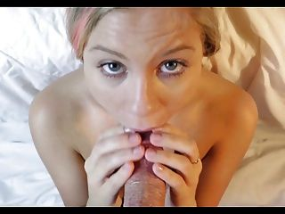 Blowjob And Huge Cumshot Facial - Slowmo Replay