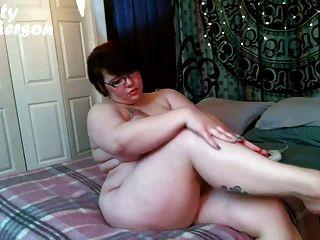 Kitty Mcpherson Huge Tits Lotion Massage Bbw