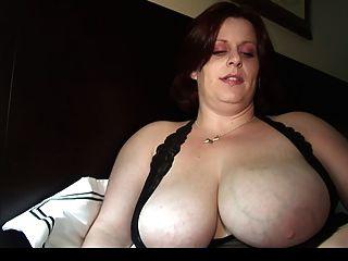Bbw Sexy Milf Takes A Load