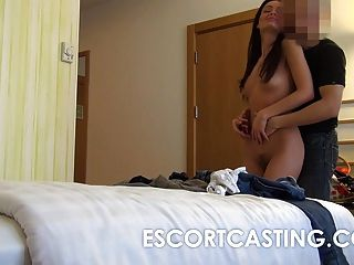 Spycam Amateur Couple Has Sex in a Hotel Room -