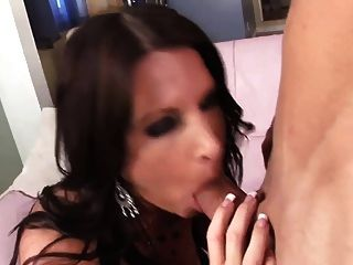Good Cumshot For A Sexy Milf In Stockings (top Milf)