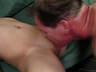 Horny On Her Young Pussy
