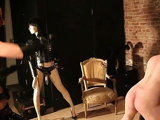 Slave Penetrated By Mistress And Her Window Dummy