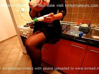Hotwife Vacuum Pumping Training Session