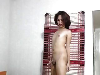 Feminine Boy Showing Off
