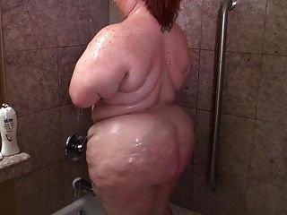 Big Ass Fatty In The Shower