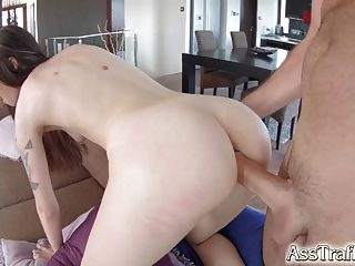 Asstraffic Misha Cross  Masturbates After Ass Sex