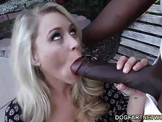 Katie Morgan Gets Monster Black Cock