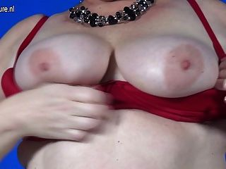 Chubby Mom With Hungry Vagina