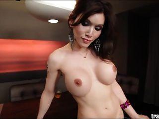 Asian Ts Eva Lin Jerks And Sucks Jessy Dubai