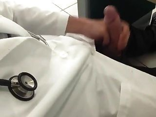 Str8 Doctor Daddy Stroke In Hospital Office