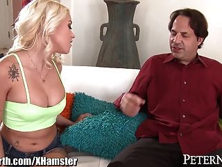 Marsha may begs stepdaddy to fuck her