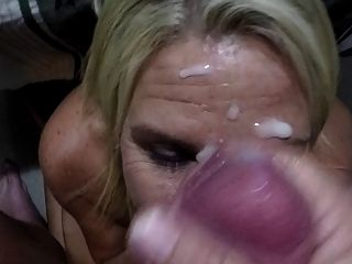 Thick White Cum For My Wifey