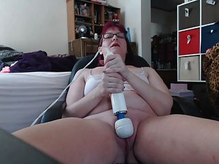 Playing With My Hitachi With A 20 Sided Die In My Pussy