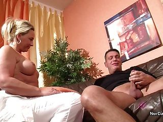 German Milf Nurse Helps Patient With Fuck To Feel Good