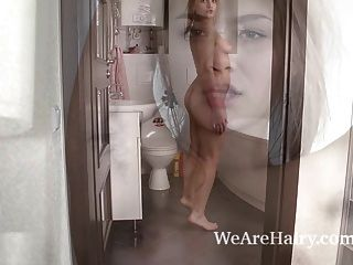 Baby Lizza Enjoys A Sexy And Sensual Bath Alone