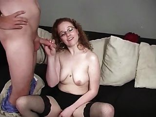 She Cums And Makes Them Cum On Her Face