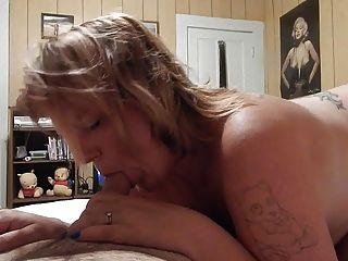 Milf Wife Sucking Some Dick