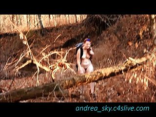 image Nude backpacking andrea sky