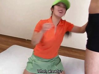 Subtitled Hd Uncensored Japanse Golf Handjob In Pov