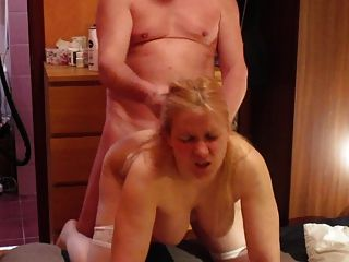 Tania Blonde Russian Milf, Doggy Fuck, Hair Pull