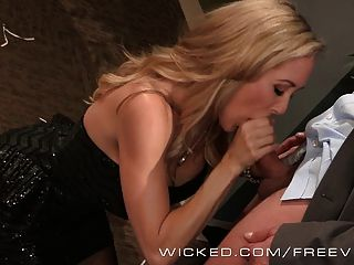 Wicked - Sexy Milf Brandi Love Takes A Big Load