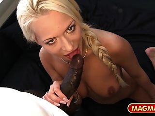 Magma Film Stunning German Blonde Tasting Bbc