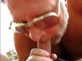 Beach Bear Blow Job