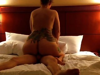 Tattooed Ass Wife Gets Pounded 2