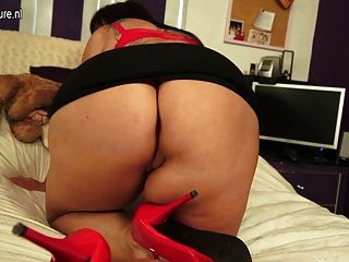 Big Busty Mother With Hungry Vagina