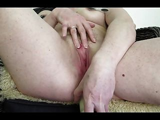 Norwegian Milf, Anal Dildo, Ginger Bush, Cumming