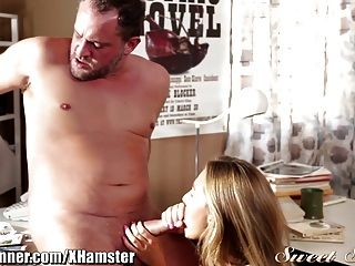 Carter Cruise Gets Teachers Cum On Bush