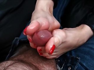 Foot Cumshots Part 2