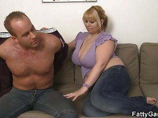 He Picks Up Chubby Blonde Bbw